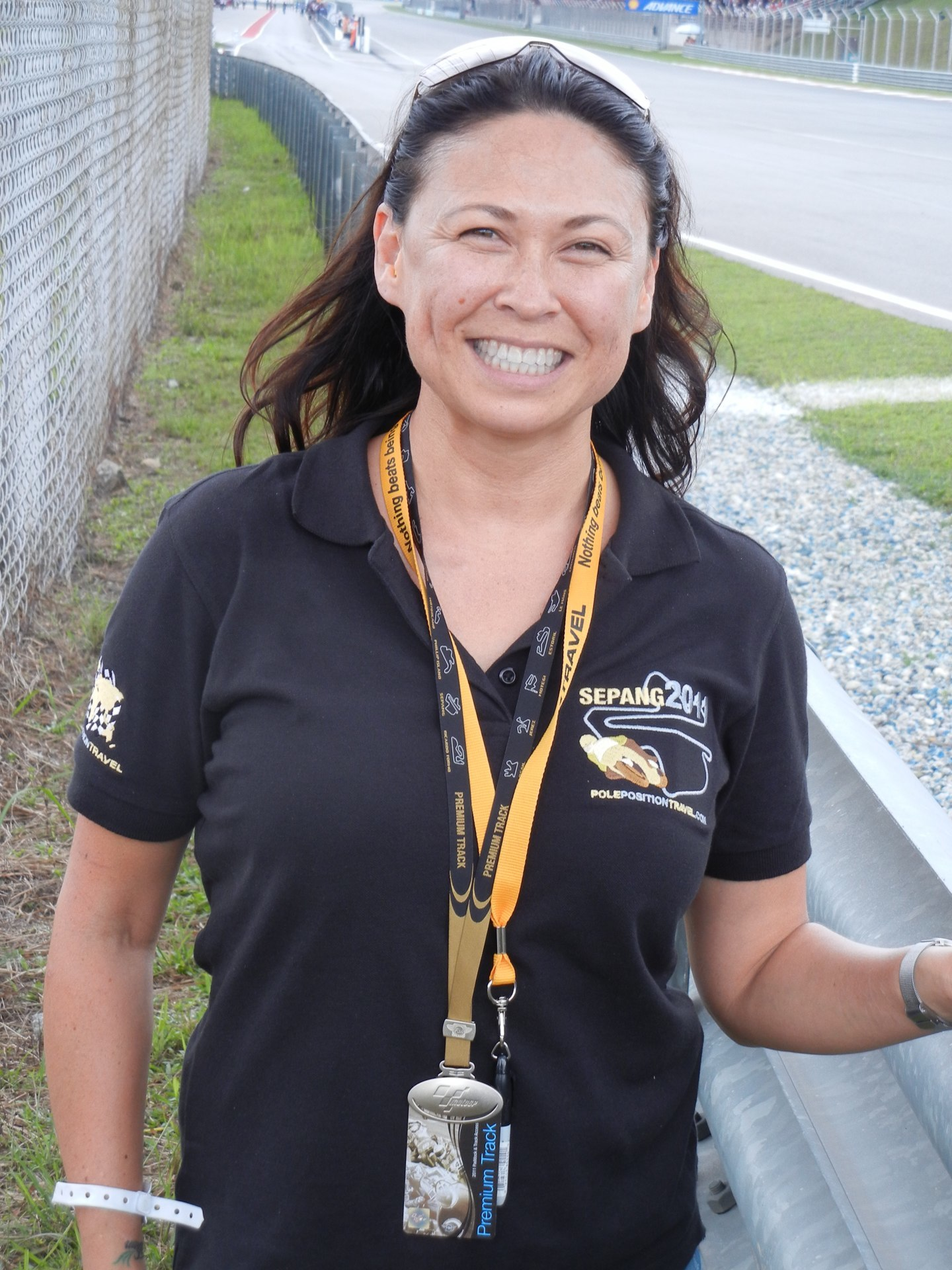 Susie in Sepang