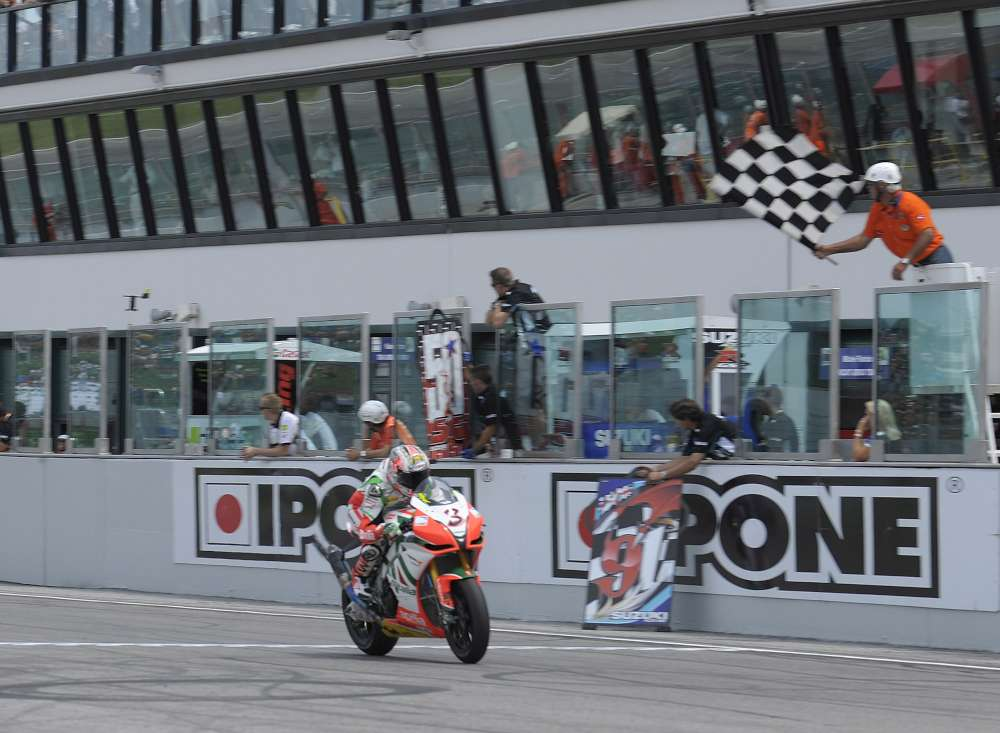 Max wins it at Misano