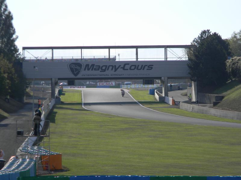 The famous Magny Cours bridge