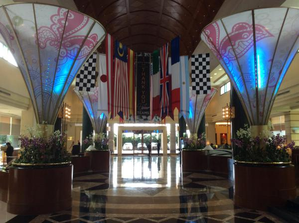 [ID: 15322] Sama Sama hotel foyer (credit: Gordon Howell (Pole Position Travel))