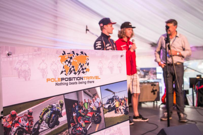 Charity auction - featuring many guests such as Roger Burnett interviewing Brad and Darryn Binder