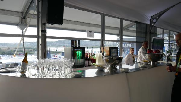 Superb bar at the Terrace