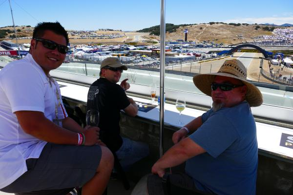 [ID: 15870] Living the VIP life (credit: Gordon Howell (Pole Position Travel))