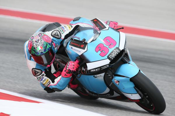 Luis Salom rips up the circuit in Texas
