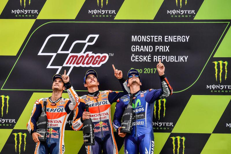 What's that up in the sky?  A bird, a plane, a Rossi? No, it's Brno back again!