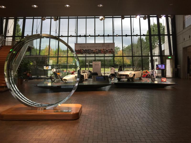 The fascinating Honda Museum