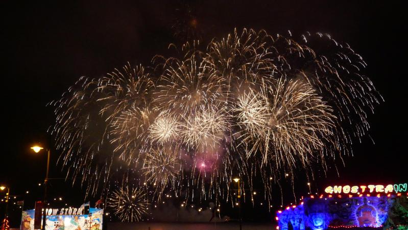 (ID: 16352) Fireworks viewed outside our 4* Hotel - the Sefton.  You will be part of the celebration!
