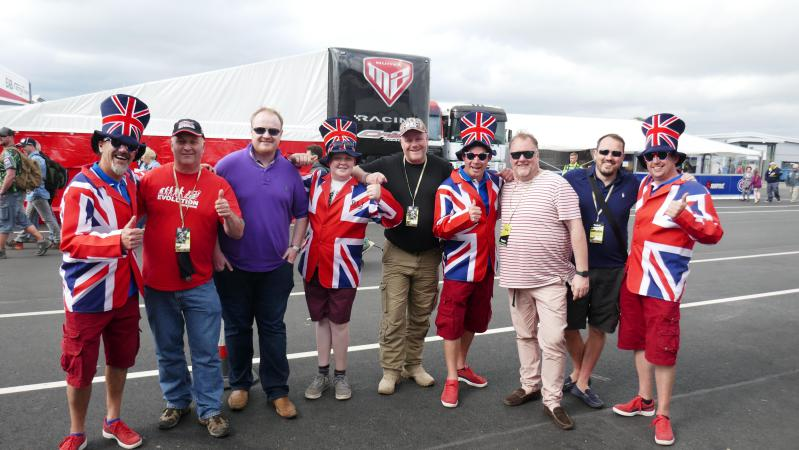 Famous Brit superfans