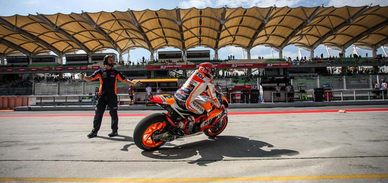Get (almost) this close to the action at the MotoGP Test!