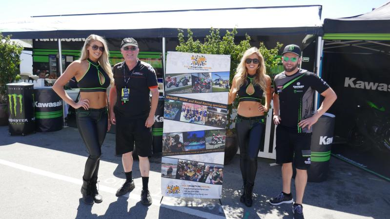 Pole Position and Kawasaki welcome you to Laguna Seca and all SBK rounds!