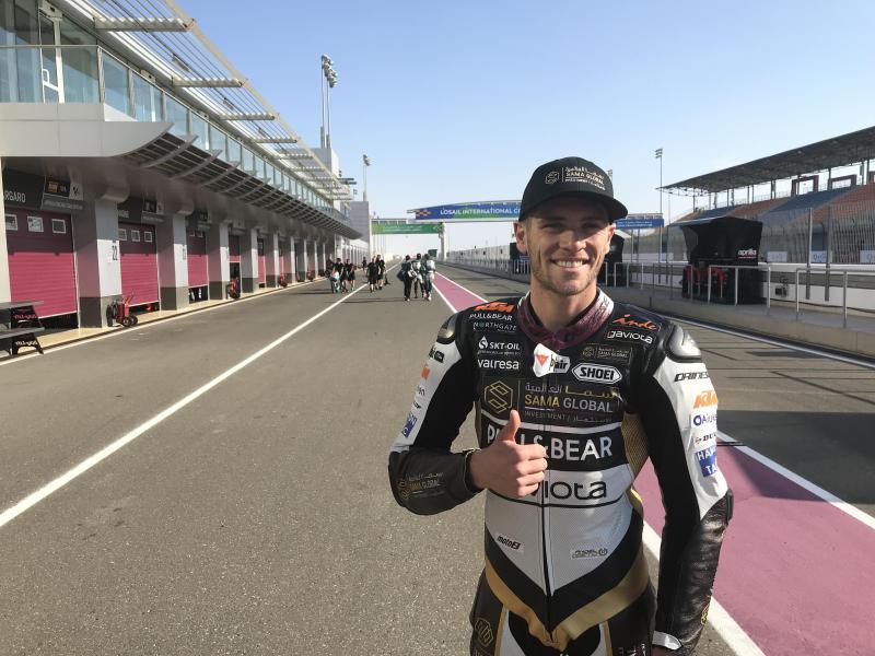 Our newly sponsored Moto2 rider Jake Dixon