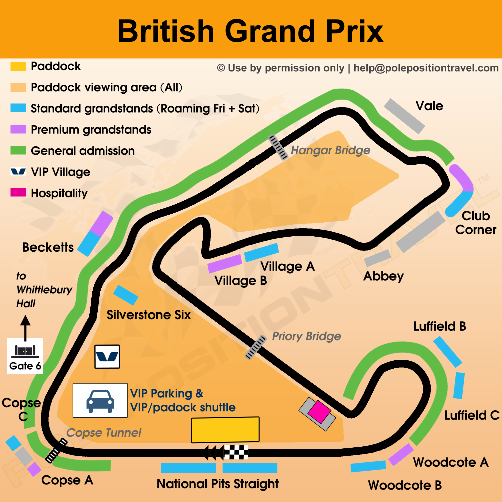British Grand Prix 2018 Circuit map