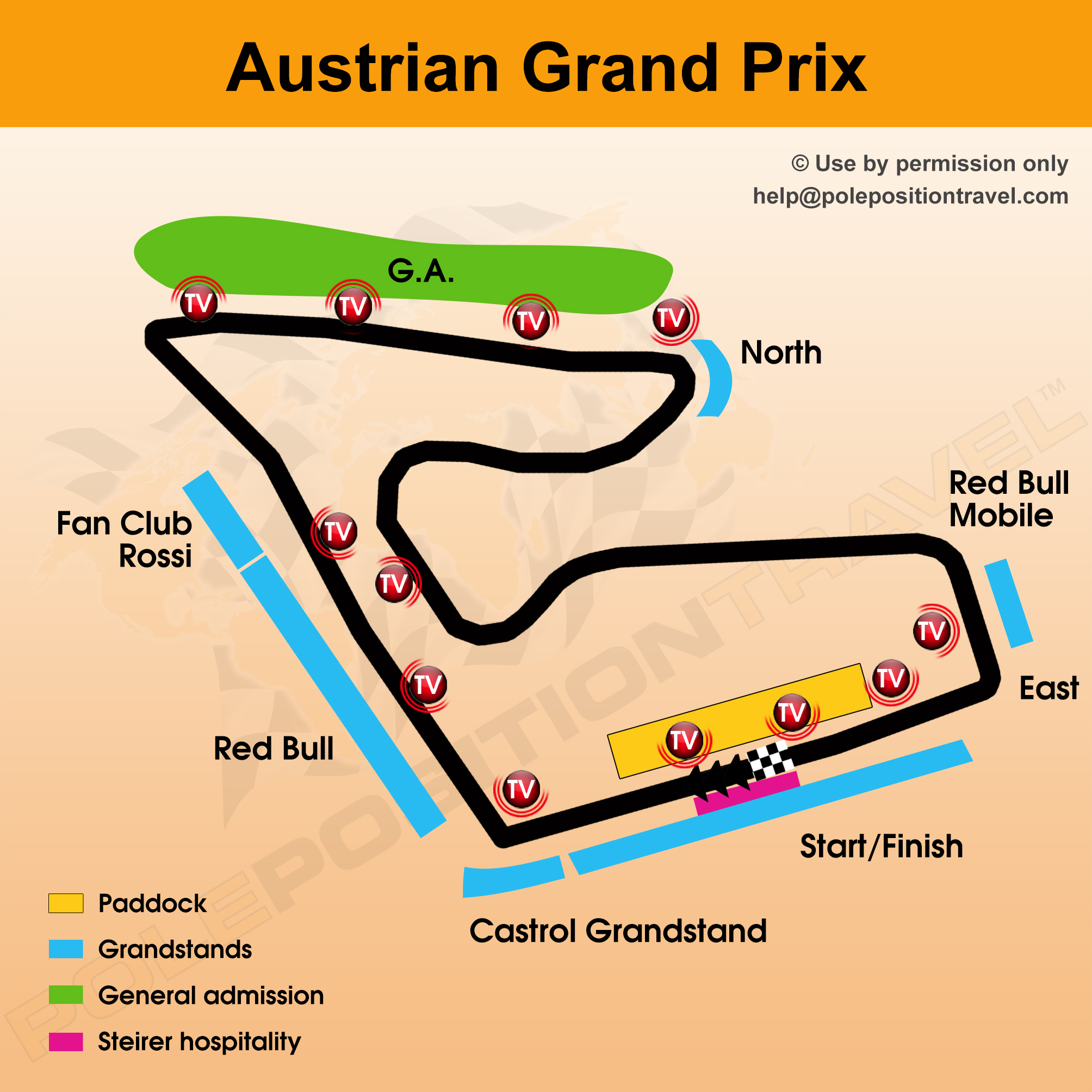 austrian grand prix 2017 circuit map