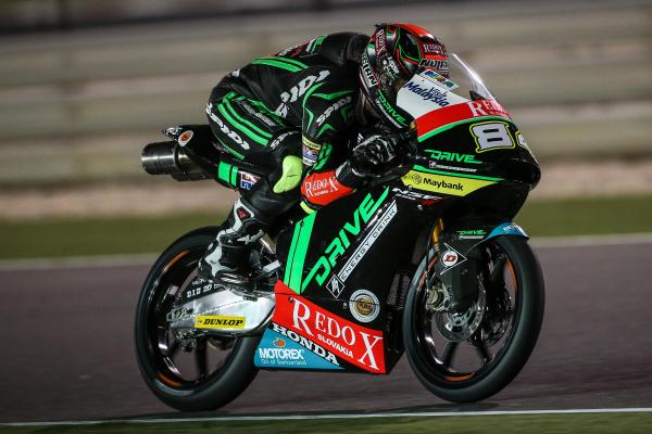 Jakub Kornfeil in action at Losail Circuit - Qatar