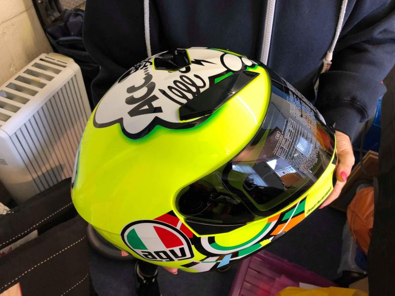 Amongst many great prizes, there will be TWO Valentino Rossi replica helmets signed by the Doctor himself...