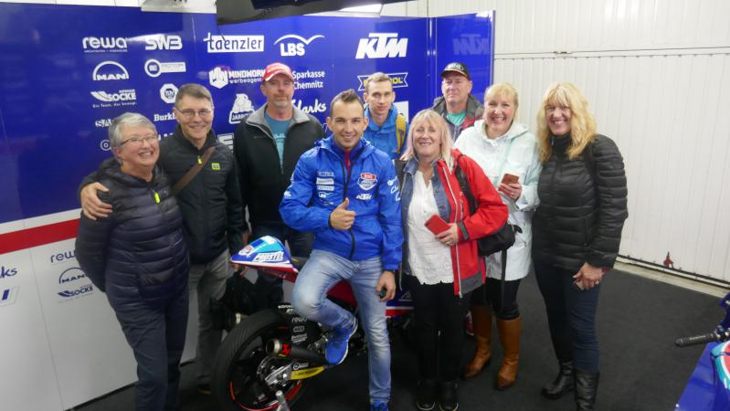 (ID: 19642) Pole Position Club members getting private garage tour from Jakub