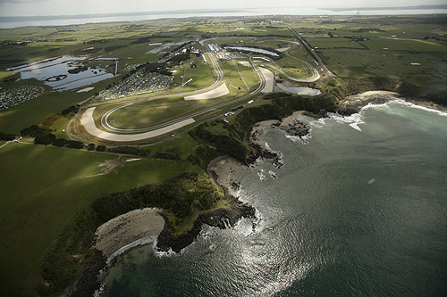Circuit from the air
