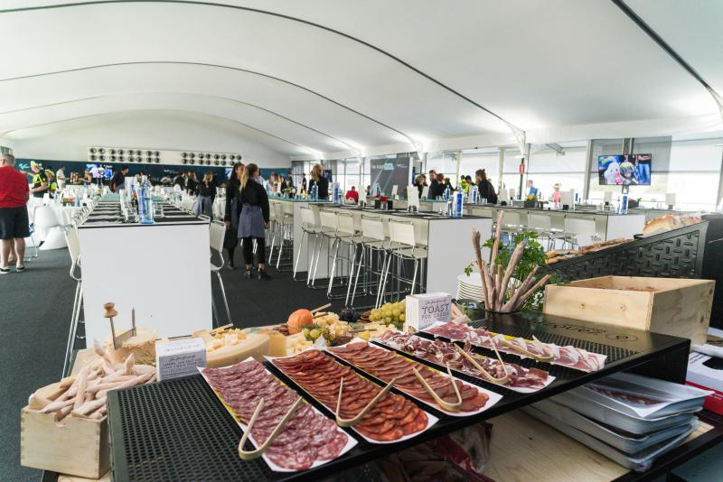 Gourmet food @VIP Village 2018
