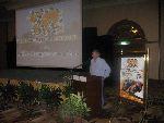 Jeremy Burgess addresses us at Sepang
