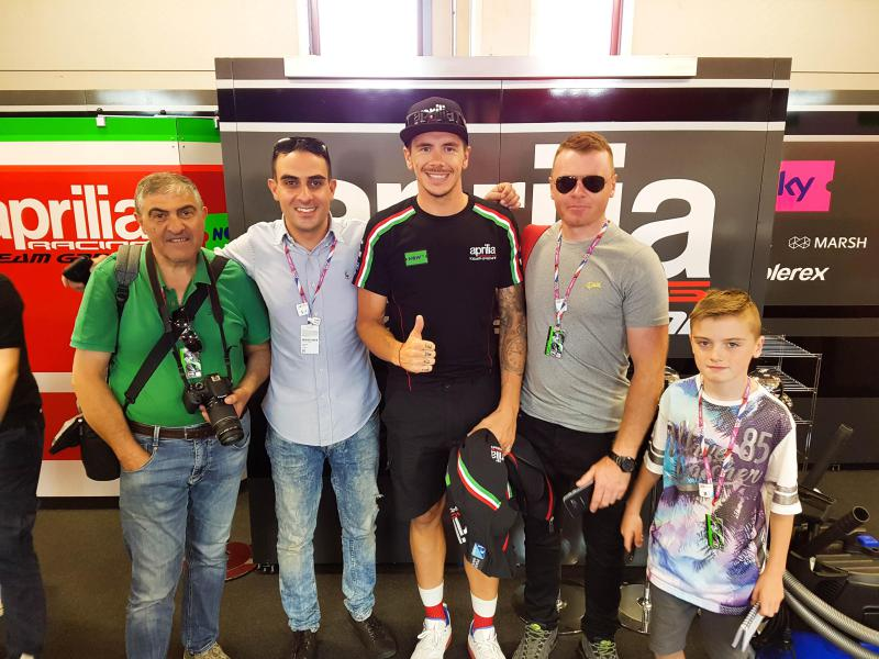 Scott Redding with PPt customers @Platinum Team Experience 2018