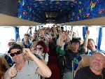 Share the fun on the coach!