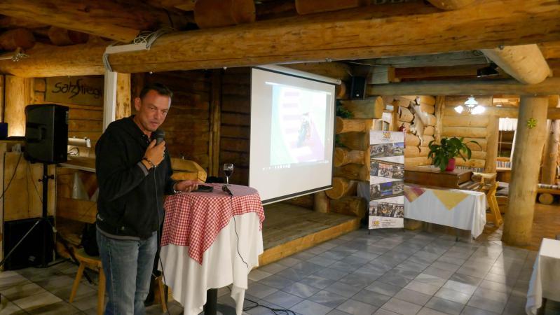Guest speaker photographer Andrew Northcott
