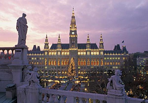 The gorgeous Vienna