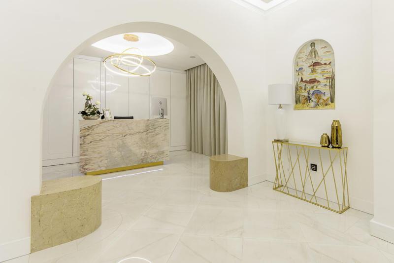 Stunning hotel reception