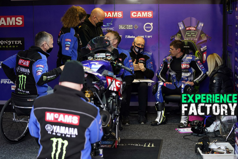 McAMS and Experience Factory take you right into the BSB team garage with a guided tour and technical briefing