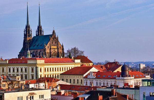Easy walking distance to most of Brno