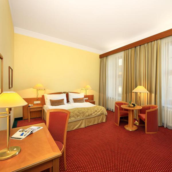 Lovely recently refurbished rooms (this is a standard double)
