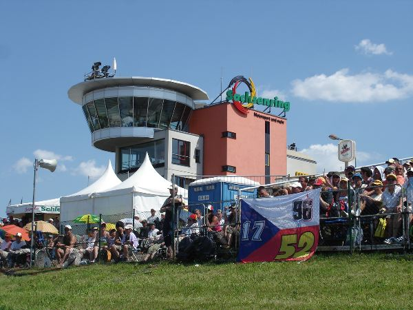 Sachsenring main control tower