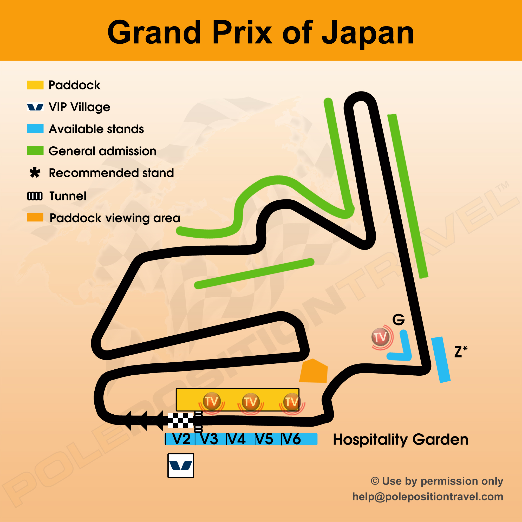 Grand Prix of Japan 2017 Circuit map