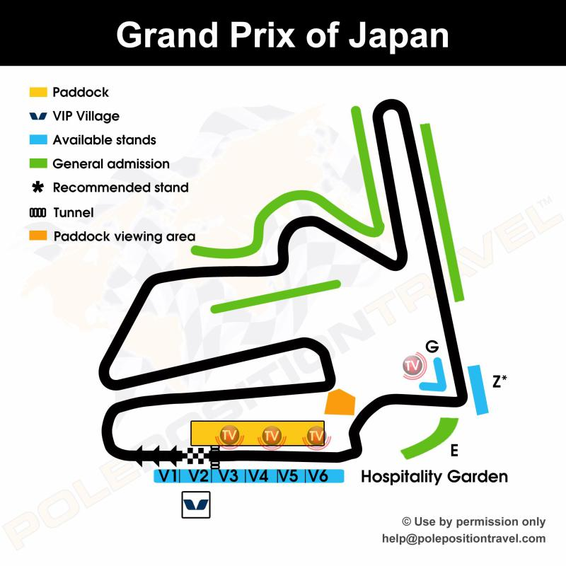 Grand Prix of Japan 2019 Circuit map