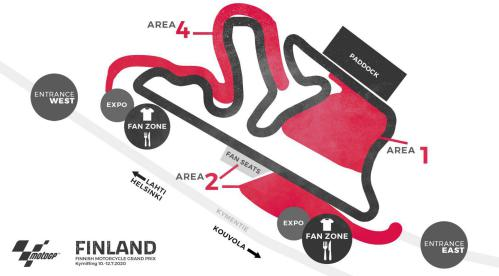 Finland Grand Prix 2021 Circuit map